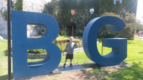 "Unrelated photo, because every blog needs photo because SEO or something. Seb thought the ""B"" and ""G"" were there to represent his middle and last initials."